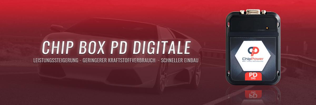 Chip Box PD Digitale - leistungssteigerung - Geringerer Kraftstoffverbrauch - Schneller Einbau