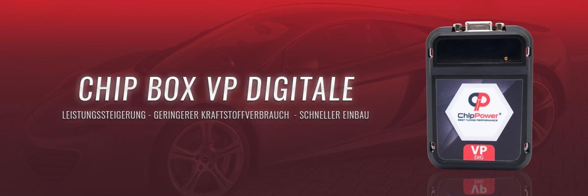 Chip Box VP Digitale - leistungssteigerung - Geringerer Kraftstoffverbrauch - Schneller Einbau