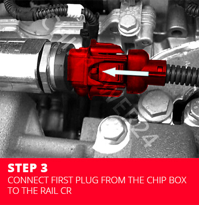 Chip Box CR1 - install step by step.