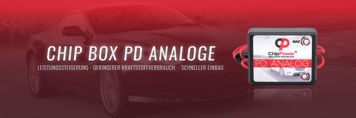 Chip Box PD Analoge - leistungssteigerung - Geringerer Kraftstoffverbrauch - Schneller Einbau